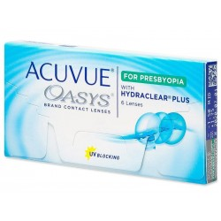 ACUVUE OASYS for PRESBYOPIA (6 lentes)