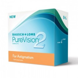 PureVision 2 HD for Astigmatism (3 lentes)
