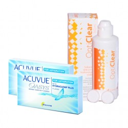 Acuvue Oasys for Astigmatism (6 lentes) + Liquido Opticlear 360ml