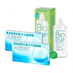 Ultra (3 lentes) + Liquido BioTrue 300ml