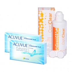 Acuvue Oasys + Liquido Opticlear 360ml