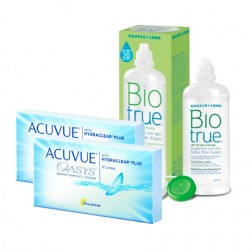 Acuvue Oasys (6 lentes)+ Liquido BioTrue 300ml