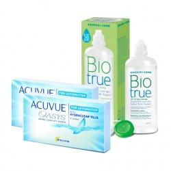 Acuvue Oasys for Astigmatism (6 lentes) + Liquido BioTrue 300ml