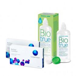 Biofinity (3 lentes) + Liquido BioTrue 300ml