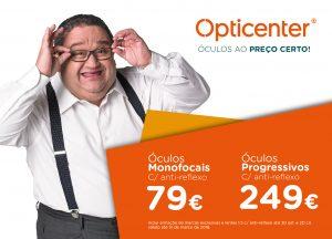 50% DE DESCONTO NOS SEUS ÓCULOS GRADUADOS - Opticenter - Óculos ao Preço  Certo! db83568ec5