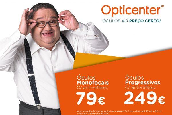 O PREÇO CERTO É NOSSO! - Opticenter - Óculos ao Preço Certo! 7f09cda77e