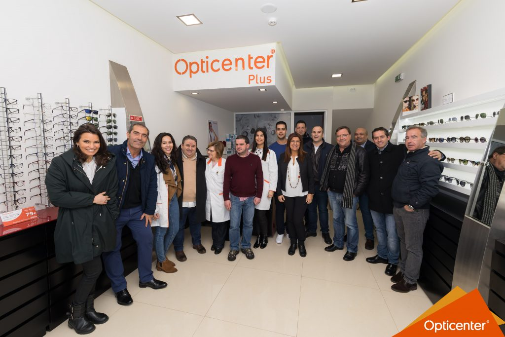 nova loja Opticenter Plus