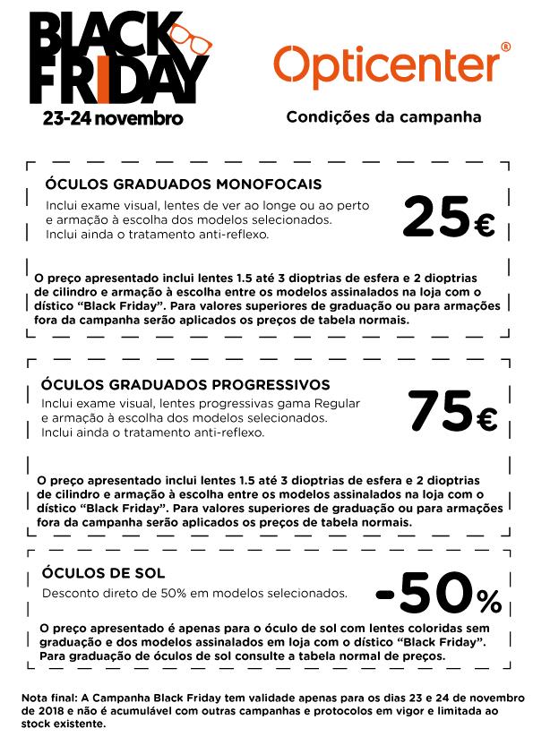 Condições Black Friday - Opticenter - Óculos ao Preço Certo! 4c9bd48231